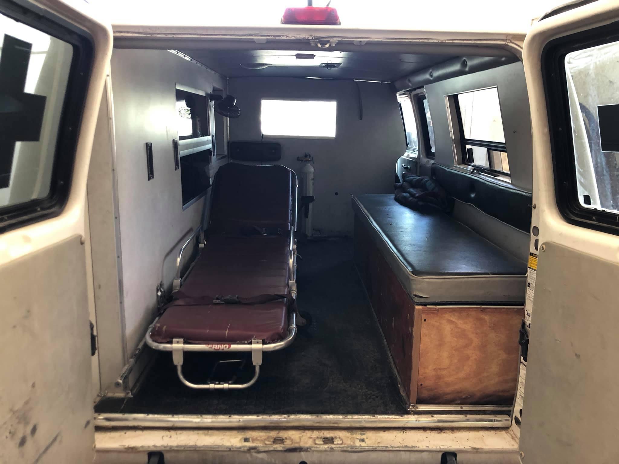 Ambulanzen im Libanon